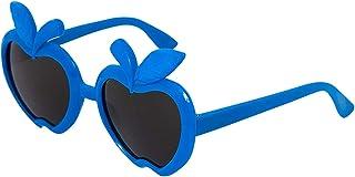 XGBDTJ - Los Niños Gafas De Sol Polarizadas Vida de Moda Flexibles Para Chicos Chicas Forma De La Manzana Gafas De Sol