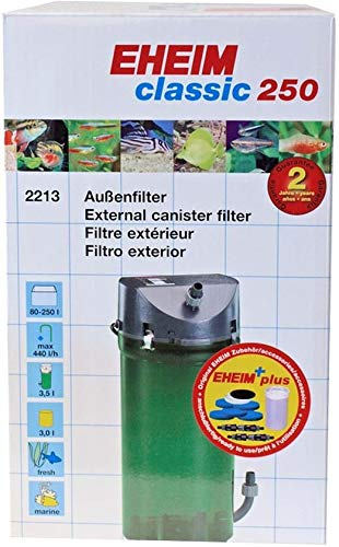Eheim Classic buitenfilter 250 + filtermateriaal