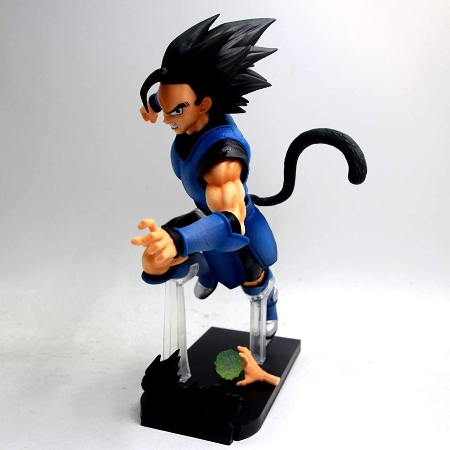 JXJJD Toy Statue Dragon Ball Toy Statue Saiyan Toy Model Cartoon Character Gift Collection Vegeta 9.8in