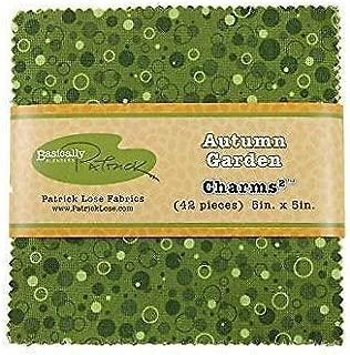 Autumn Garden~ Charm Pack 42, 5 Cotton Squares -by Patrick Lose