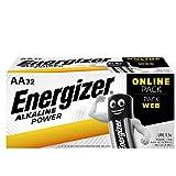 [page_title]-Energizer Batterien AA, Alkaline Power, 32 Stück