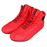 GINGPAI Wrestling Boxing Shoes for Men & Women,Bodybuilding Boxing Weightlifting MMA Shoes, Exercise...