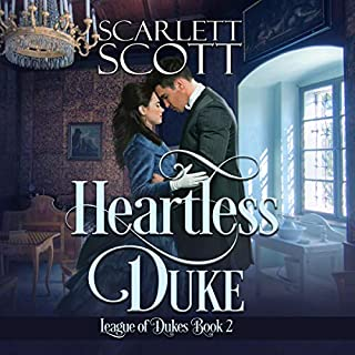 Heartless Duke audiobook cover art