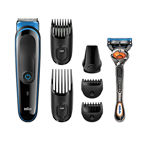 Braun Multi Grooming Kit 7-in-1 Precision Trimmer for Beard and Hair Styling