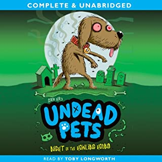 Undead Pets: Night of the Howling Hound copertina