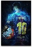 TANXM Druck Auf Leinwand 50x70cm Kein Rahmen Lionel Messi