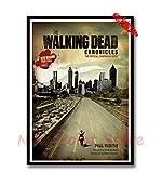 N/B Classic Movie Canvas Poster The Walking Dead Season 7 Creative Wallpaper Interior Decoration P8U101 50X70Cm