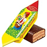 Krasnaya Shapochka Red Riding Hood, Praline Candy with Wafers and Chocolate, Russian Classic Sweets by Red October (500 g)