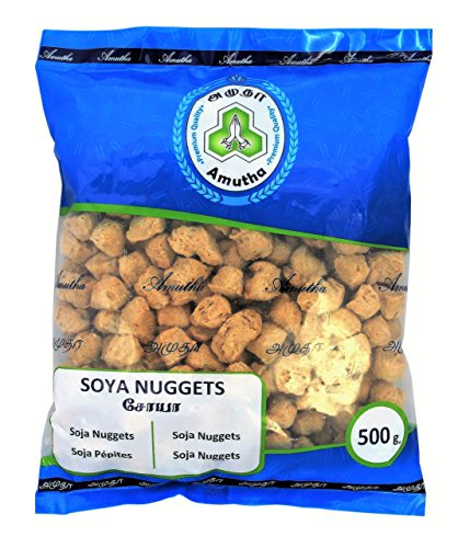 [ 500g ] Amutha Soya Nuggets / Fleisch Alternative / Soja Nuggets