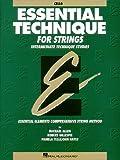 Essential Technique for Strings (Original Series): Cello