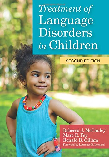 Treatment of Language Disorders in Children [With