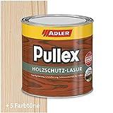 ADLER Pullex Holzschutzlasur Farblos 750ml - 2in1 Imprägnierung und Holzlasur aussen - Universelle, aromatenfreie Lasur für Holz im Außenbereich. Perfekter Holzschutz