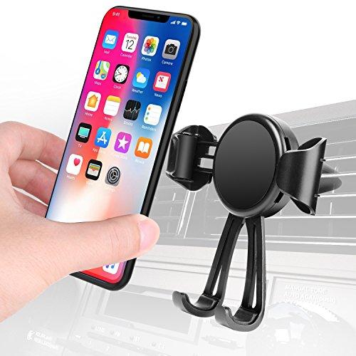 Skybaba Handyhalterung Auto Air Vent Kfz Halterung Universal für iPhone X 8 Plus 7 Plus 6 6S Plus Samsung Note 8 s8 s7 s6 und andere Smartphone oder GPS-Gerät (hält bis zu 6-Zoll-Handy)