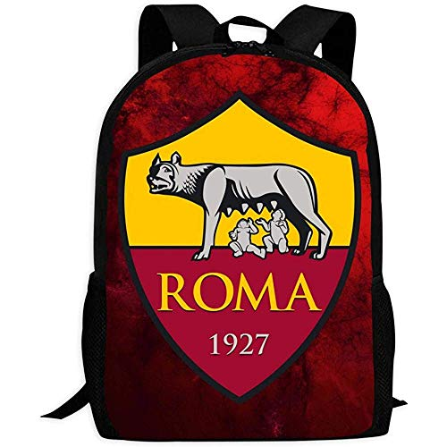 Multifunzione Zaino,As Roma Fashion School Bag Per Adulti