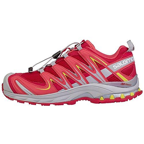 Salomon XA Pro 3D W, Zapatillas de Trail Running Mujer, Rojo (Red), 36 EU