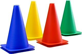 Activity Cones For Kids - Juego Completo de 8. Un Gran Juego de Juguetes para Conos al Aire Libre, adecuados para Carreras de obstáculos: Juegos de jardín al Aire Libre de Calidad Desde 1795