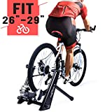 Fluid Bike Trainer Stand, HEALTH LINE PRODUCT Indoor Fluid Bicycle Exercise Trainer w Quiet Real...