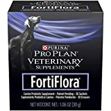 Purina FortiFlora Probiotics for Dogs, Pro Plan Veterinary Supplements Powder Probiotic Dog Supplement – 30 ct. box