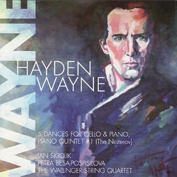 Hayden Wayne-5 Dances For Cello & Piano/Piano Quintet #1 (The Nuzerov)