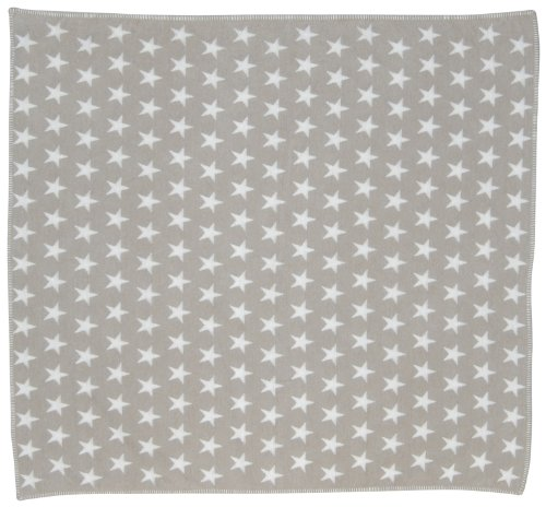 David Fussenegger 590380G3 Finn Kinder- und Babydecke - Sterne allover, circa 130 x 130 cm
