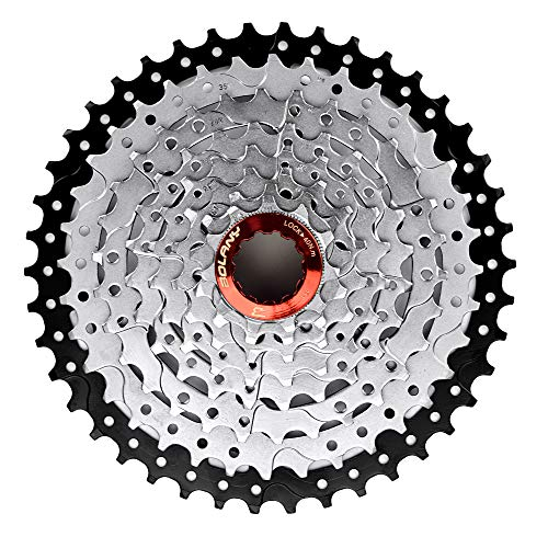 LITEONE 8 Speed Cassette 11-42T MTB Cassette 8 Speed Fit for Mountain Bike, Road Bicycle, MTB, BMX, SRAM, Shimano
