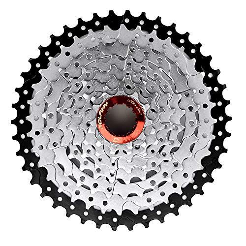 Bibike 8//9//10//11 Speed Bike Cassette 11-40T 11-42T Lightweight Mountain Bike Cassette Compatible with Shimano Sram