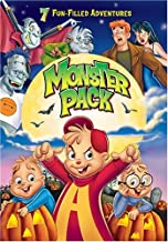 Monster Bash Fun Pack: (Alvin And The Chipmunks Meet Frankenstein / Alvin And The chipmunks Meet The Wolfman / Monster Mash / Archie & The Riverdale Vampires)