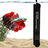 10W Betta Heater, for Small Tanks (1.5 gal.), Fully Submersible Aquarium Heater, Automatically Reaches Preset Temperature, Energy-efficient Heating Module, Suction Cups for Easy Installation