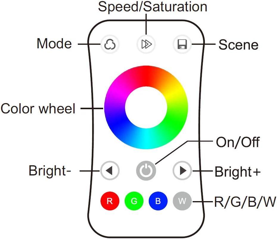 3-50m Ogeled 230V RGB LED 60 leds Strip Streife leiste ip65 mit Kontroller Dimmer FB (18M) S3 Rgb Kontroller+rgb Fb