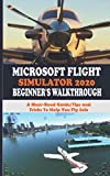 MICROSOFT FLIGHT SIMULATOR 2020 BEGINNER'S WALKTHROUGH: A Must-Read Guide/Tips and Tricks To Help You Fly Solo