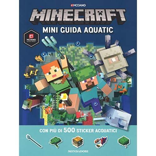 Minecraft. Mini guida aquatic. Con adesivi