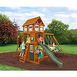 KidKraft Cranbrook Cedar Wood Swing Set Play Set