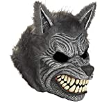 California Costumes Werewolf Mask,Assorted,One Size, Grey