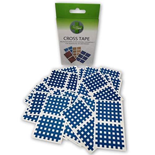 LisaCare Cross Tape Gitterpflaster groß - 40 Gitter-Tape Akupunkturpflaster pro Box - Crosstape Typ C - Gitterpflaster 5x5