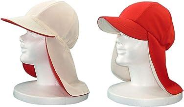 紅白帽子、UVガード生地内張り、冷却機能付き、coolbit UV紅白帽 品番;WR-S701 。入学準備や新学期向けに、UV、抗菌、防臭加工生地を採用の紅白帽子、99%のUV遮蔽率(ボーケン品質評価機構データ)フラップ部が幅広で長く、日差しに...