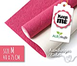Antirutsch-Matte Keep ME Albstoffe Blumen Größe M pink