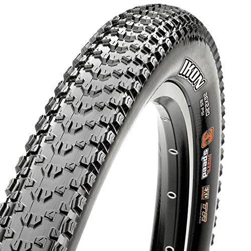 Maxxis Pneu 27.5x2.20 ikon tubeless Ready exo Protection Mixte Adulte, Noir, 27,5 x 2,20