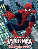 Ultimate Spiderman Coloring Book: 50+ Spider-man Illustrations for...