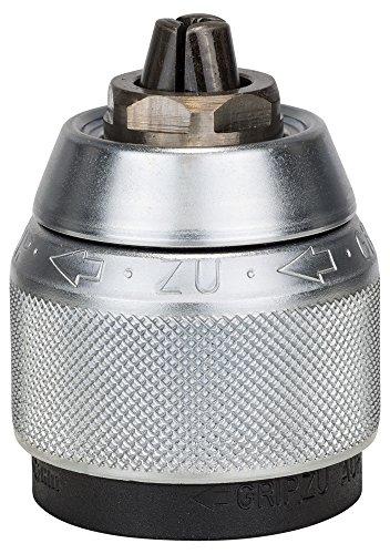 """Bosch 2 608 572 149 - Portabrocas de sujeción rápida, cromado - 1,5 – 13 mm, 1/2"""" - 20 (pack de 1)"""