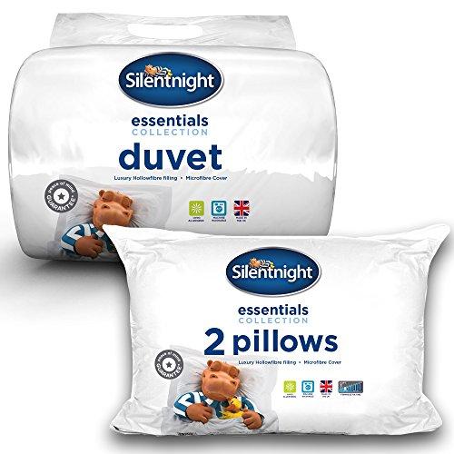Silentnight Hollowfibre 10.5 Tog Duvet & Pillow Pair