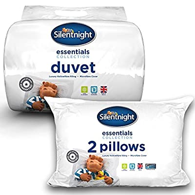 Silentnight Hollowfibre 10.5 Tog Duvet & Pillow Pair