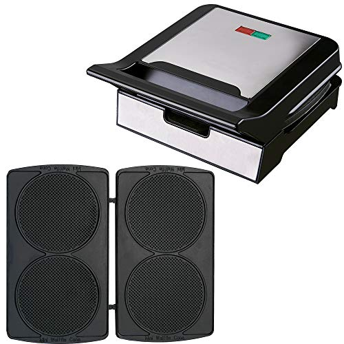 Syntrox Germany Gofrera MM-1400W con placas extraíbles