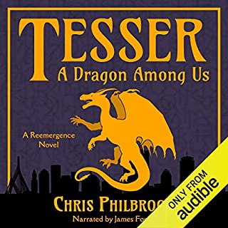 Tesser: A Dragon Among Us audiobook cover art