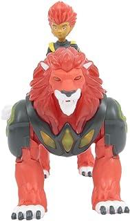 Gormiti - Hiperbeast Luminoso con Figura de 7 cm -Pyron, GRM052, Multicolor