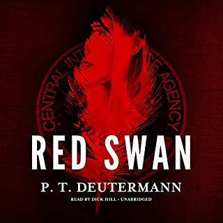Red Swan audiobook cover art