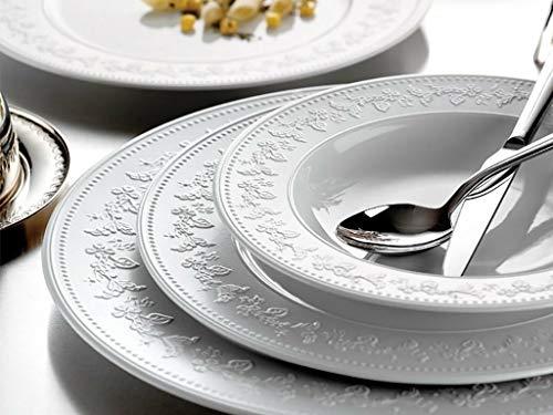 Kütahya Porselen Silvia - Vajilla de 24 piezas (6 piezas, porcelana)