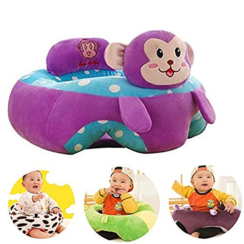 Best Deals! Learning To Sit On The Sofa Baby Support Seat Sofa Plush Chair Colorful Infant Learning ...
