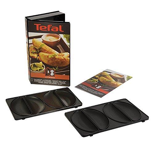 Tefal Coffret Snack Collection de 2 plaques empanadas + livre de recettes XA800812