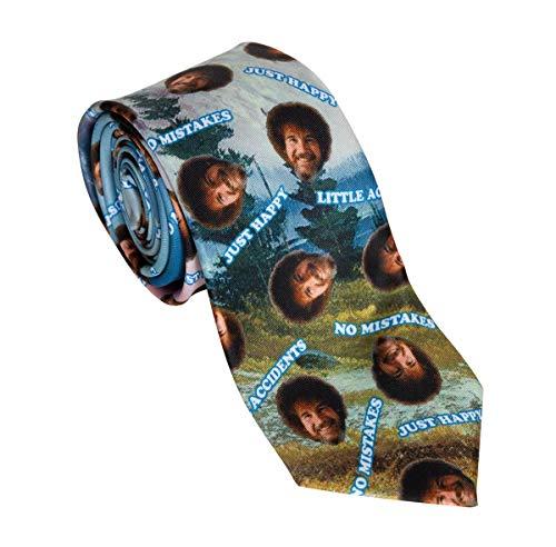 Calhoun Officially Licensed Bob Ross No Mistakes Necktie