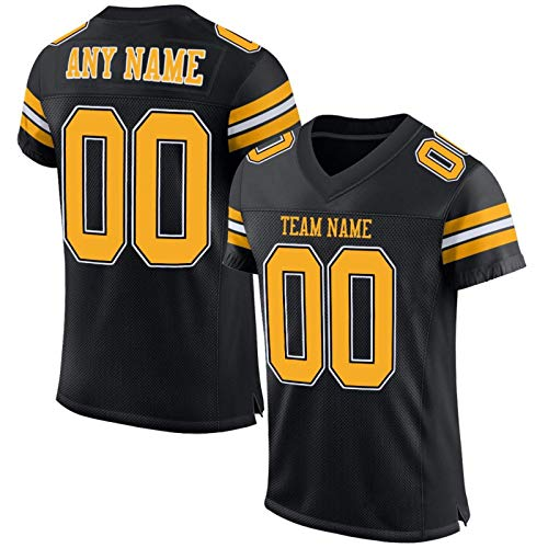 Custom Pittsburgh Jerseys 2 Sided Personalized Jerseys S-3XL Size Name Number Present Gifts Jerseys for Men Women Younth